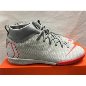 2454684de300e Tenis Ic Nike Mercurial Superfly X 6 Academy De Niño Gris