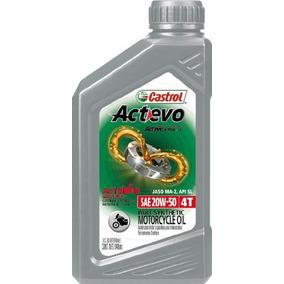 Castrol Actevo 4t 20w-50 Aceite Para Moto Cajax6 Ud