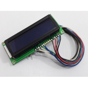 Display Lcd El-1602a Com Fundo Azul Arduino + Rabicho