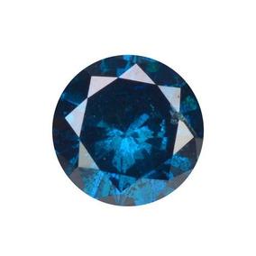 Diamante Azul Certificado .20 Quilates3.60x2.23mm