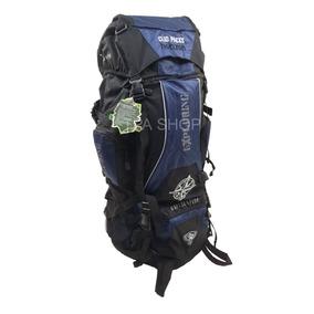 Mochila Trekking 70 Litros Leve Resistente P/ Viagem + Frete