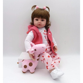 Boneca Bebê Reborn Realista Menina