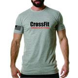 Camiseta Crossfit Academia Malha Fria Elite Fitness