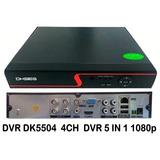 Dvr Dk5504 4ch Dvr 5 In 1 1080p
