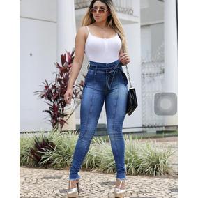Calça Feminina Clochard Jeans 36ao46 Hot Pant Roupa Feminina