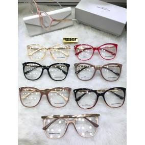 Armação Para Óculos De Grau Varios Modelos Femininos - Óculos no ... 2c9712d855