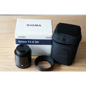 Sigma Art 60mm 2.8 Sony Emount A6000 A6300 A6500 A6400 50mm