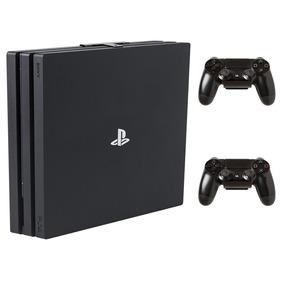 Ps4 Playstation 4 Pro 7215b 1 Tb 2 Controles -