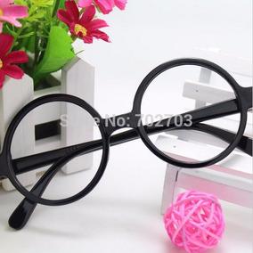 Armação Retrô P Grau Óculos Redondo Preto Vintage Clássico - Óculos ... 570072f6d4