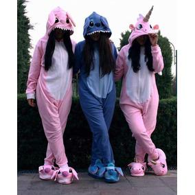 Pijama Enterizos - Stitch, Unicornio, Pato(gravity)