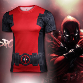 Playera Corta Comics Superheroes Deadpool Hombre Xtreme C