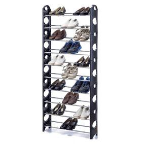 Organizador De Zapatos, 10 Estantes, 30 Pares Desarmable