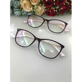 Armação Oculos De Grau 3 Peças - Óculos no Mercado Livre Brasil 90a079b1b0