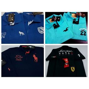 5 Camisas Polo Masculina Camisetas Blusas Marcas Famosas 30d06e47abc10