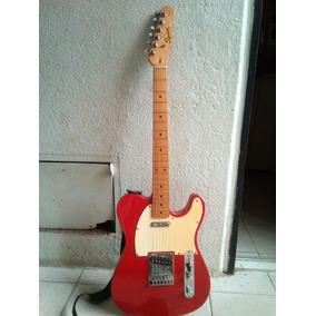Guitarra Electrica Fender Telecaster Squar Afinity 80 Verdes