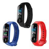 Pulseira Inteligente Smartband Monitor Cardíaco Relógio M3