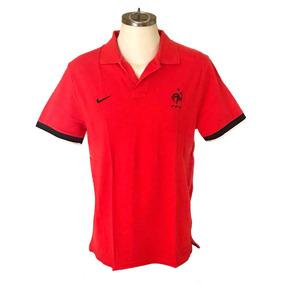 eb685ecacb5b2 Playera Polo Oficial Francia Nike Talla L Roja