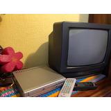 Tv Hitachi 14 Y Dvd Cyberhome Combo