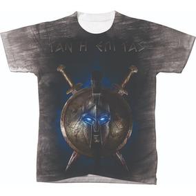 Camisa Regata Com Capuz Espartano Spartan Academia Treino. 19 vendidos -  Santa Catarina · Camiseta Camisa Blusa Soldado Espartas 3030 Filme fd5445d321b