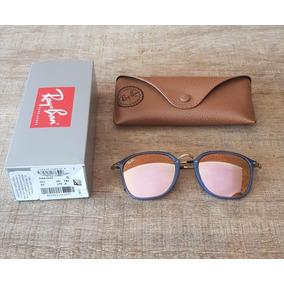 Rayban Round Fleck Espelhado - Óculos no Mercado Livre Brasil 4063837ec6