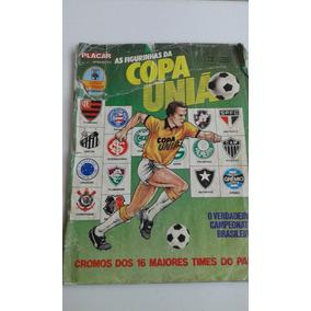 Álbum Copa União 87 Incompleto No Estado Das Imagens Falta 8