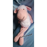Oveja Crochet Amigurumi Bebe Apego
