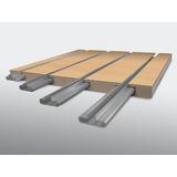 Un Inserto De Aluminio Para Exhibipanel, Panel Ranurado