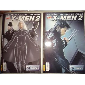 Lote X Men 2 Preludio Do Filme + Adaptação Oficial Panini