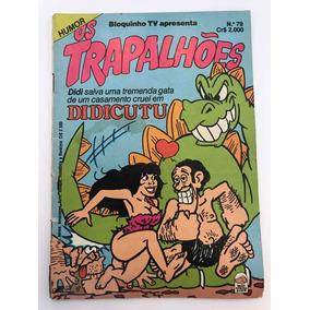 Gibi Os Trapalhões Nº:79 - Ed. Bloch - 1982 - Antigo