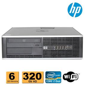 Computado Hp Core 2 Duo E8200 6gb Ddr3 Hd320gb Gravador Wifi