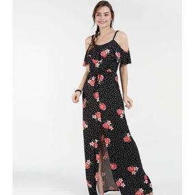 Vestido Estampa De Cruz Marisa - Vestidos Longos Femininas no ... 181bb094028