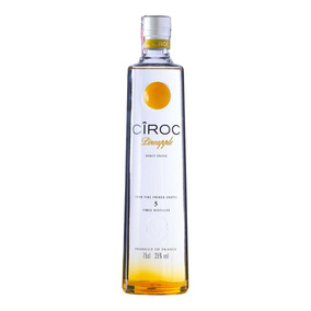 Vodka Francesa Cîroc Pineapple Garrafa 750ml