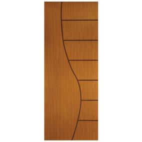 Porta De Madeira Frisada Cantareira Mgm 210cmx80cm Iewt