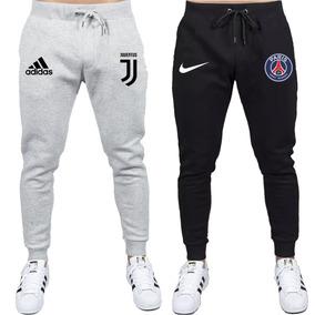 Kit Calças Moletom Masculina Slin Times Europeus Juventus Fg
