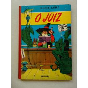 Lucky Luke Nº 2! O Juiz! Bruguera 1966! Capa Dura!