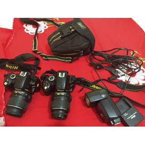 2 Máquinas: Nikon D60 E Nikon D5100