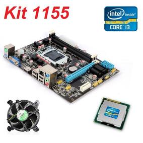 Kit Placa Mãe E Processador I3 /2120 4 Gb Memórias