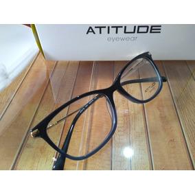 Armação Óculos De Grau Atitude At6175 100% Original 54c4965d34