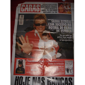 Poster Revista Caras C/ Xuxa - 16/10/98