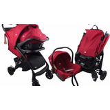 Carriola Infanti 2 En 1 Joie Brisk Travel System Rojo