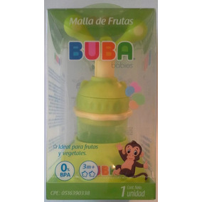 Malla Para Frutas Para Alimentar A Tu Bebe Con Soporte Buba