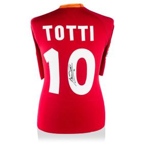 Francesco Totti Playera Firmada De La Roma Local