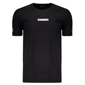 Camiseta New Era Nfl Oakland Raiders Preta 0ccdfea39b0dc