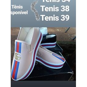 Tenis De Salto Primeira Linha Gucci