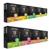 100 Cápsulas Para Nespresso Chá Aroma Envio Veloz Full