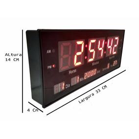 70c0282c8ad Relogio De Parede Para Sauna - Relógios no Mercado Livre Brasil