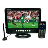 Televisor Portatil Hitech 10.1 Señal Digital Hd/