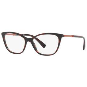Armação Oculos Grau Versace Ve3248 989 54 Vermelho Havana 2adef47dcd
