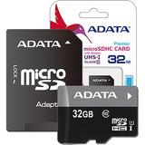 Memoria Micro Sd 32gb Clase 10 Adata