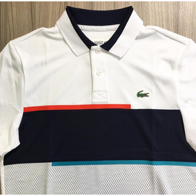 Camiseta Polo Lacoste Infantil - Calçados, Roupas e Bolsas no ... 6bb6f9dbde